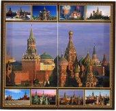 Star Turistik Kremlin Sarayı Rusya Tavla Seti Çilalı Zar Pul Set
