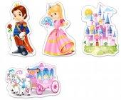 Castorland 3+4+6+9 Parça Prensesin Dünyası Baby Puzzle