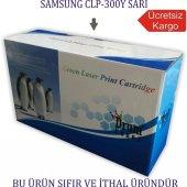 Samsung Clp 300y (Clx 3160 2160) Sarı Muadiltoner