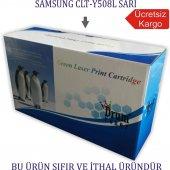 Samsung Clt Y508l (Clp 620 Clx 6250) Sarı Muadil Toner