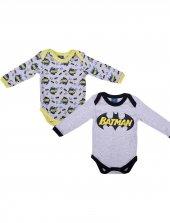 Batman Bebek 2li Uzun Kol Body 12243