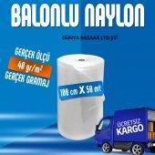 Balonlu Naylon 100cm X 50 Mt 40gr M2