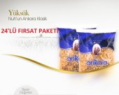 24 Paket Nuhun Ankara 500gr Yüksük Makarna Ekonomi Paketi