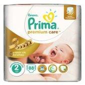 Prima Bebek Bezi Premium Care 2 Beden Jumbo Paket 88 Ad