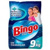 Bingo Matik 9 Kg Sık Yıkananlar Toz Çamaşır Deterjanı