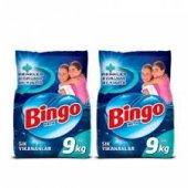 Bingo Matik Sık Yıkananlar 9 Kg + 9 Kg 2li Set Toplam 18 Kg
