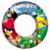 Bestway 96102 Angry Birds Lisanslı Simit 56 Cm