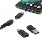 Micro Usb To Type C Çevirici Otg Dönüştürücü Samsung Sony Lg Huaw