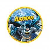 Batman Temalı Karton Tabak 23 Cm (8 Adet)