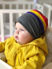 Babygiz İp Aksesuarlı Şapka