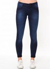 Mavi Lexy Ink Blue Gold Feather Kadın Pantolon
