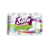 Tuvalet Sofa Extra 12li Kağıdı(Peçete,havlu,temizlik Kağıtları)