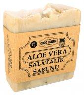 El Yapımı Aloe Vera Salatalık Cilt Bakım Sabunu 5.6 Ph
