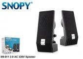 Snopy Sn 209 2.0 Siyah Ac 220v Speaker