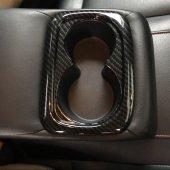 Honda Cıvıc 2016 2018 Fc5 Karbon Bardaklık Kaplaması