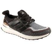 Adidas Ultra Boost Siyah Gri Erkek Koşu Ayakkabısı