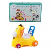 Babycim Müzikli Atlı Bisiklet Ve Bebek Tuvalet Eğitimi Lazımlığı