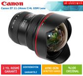 Canon 11 24mm F 4 L Usm Lens (Canon Eurasia Garantili)