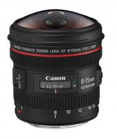 Canon 8 15mm F 4 L Usm Fisheye Lens (Canon Eurasia Garantili)