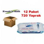 Medifresh Vücut Temizleme Havlusu 60lı X12 Paket 720 Yaprak