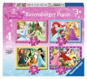 Ravensburger 4in1 Puzzle Disnep Princes 73979