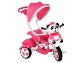 Little Panda Tenteli Ebeveny Kotnrollü 3 Teker Çocuk Bisikleti