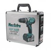 Max Extra Mxp 2940d Motor Akülü Darbeli Matkap