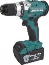 Max Extra Mxp 2940 Kömürsüz Motor Akülü Matkap 20v 4a