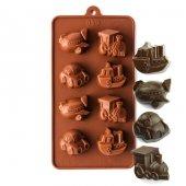 Js Silikon Çikolata Kalıbı Araçlı