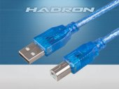 Hadron Hd4102 250 Prınter Kablosu Transparent 5m