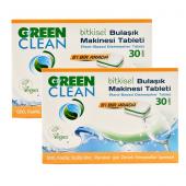 U Green Clean Bitkisel Bulaşık Makinası Tableti 60 Adet