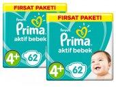 Prima Bebek Bezi 4+ Beden Maxi Plus 124 Adet Fırsat Paketi