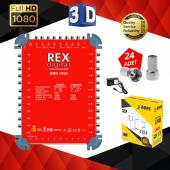 Rex 10 24 S Multıswıtch+adaptör+quattro Lnb+24 Adet F Konnektör