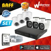 6 Kameralı Ahd Güvenlik Kamera Sistemi Sony Lens Full Set