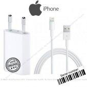 Apple İphone 5, 5s, 5c Orjinal Şarj Aleti Cihazı + Usb Şarj Kablo