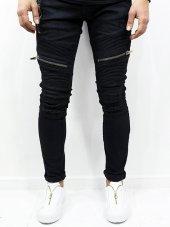 2y Ray Desen Kot Pantolon Siyah Jean Fermuar İşleme 2018