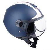 Açık Motosiklet Kaskı Cgm 107dj1 Rome Sagomato Siyah Renk