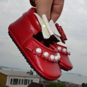 Corcik Makosen Bebek Ayakkabı Kırmızı Cv 47