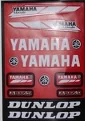 Yamaha Fullset Sticker 32x22cm Büyük Boy Çeşit