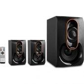 Mikado Md 1212 2+1 Siyah Usb+sd+fm Destekli Multimedia Speaker