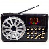 Everton Şarjlı Dijital Lcd Mini Radyo Müzik Çalar Usb Tf Aux 3052