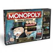 Hasbro Monopoly Dijital Bankacılık Kredi Kartlı Monopoly
