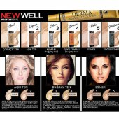 New Well Derma Cover Make Up Porselen Fondöten Kapatıcı