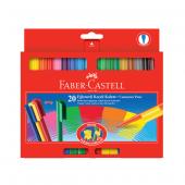 Faber Castell Eğlenceli Keçeli Kalem 20 Renk 5068112000000