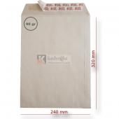 Doğan Torba Zarfı 240 320 Kraft 90gr Slk 500 Lü (1 Paket 500 Adet