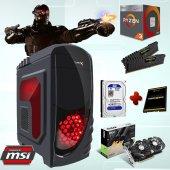 Ryzen3 2200g 16gb Ram 120gb Ssd 1tb Hdd Msı Gtx1060 6gb Ekran Kartı Masaüstü Oyun Bilgisayarı