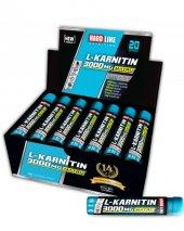 Hardline L Karnitin Matrix 3000 Mg 20 Ampul