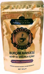 Patentli Burçak Kahvesi 100 Gr Kilitli Paket (Türk Malı)