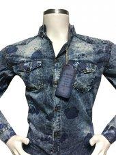 Lentino Slim Fit Uzun Kol Kot Gömlek