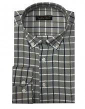 Atilla Özer 0616 Klasik Kesim Uzun Kol Ekose Gömlek